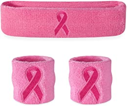 Suddora Sweatbands (Headband/Wristband Set) - Terry Cloth Athletic Sweat Bands for Basketball, Tennis, Working Out, Gym
