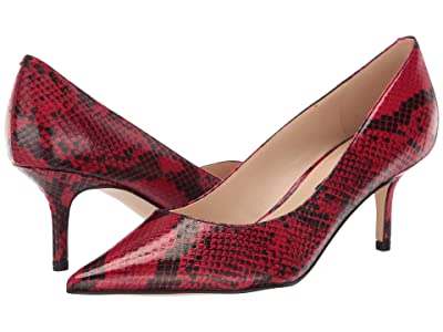 Nine West Arlene Pump (Red 1) Women