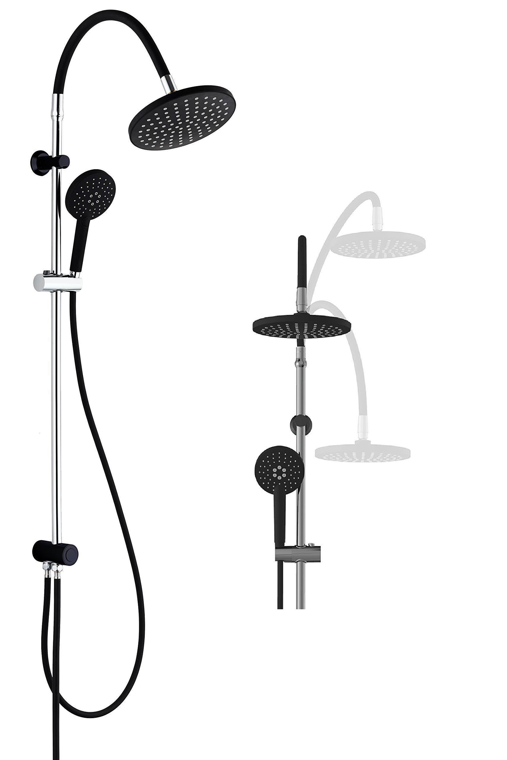 SCHÜTTE 60626 MATAO RAIN - Juego de ducha (columna de ducha 2 en 1 ...