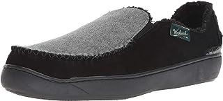 Woolrich 男式 Boardwalk 拖鞋,黑色/浅色,42 码