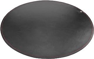 LinkIdea Leather Splat Mat for Under High Chair Floor Protector for Kids - Reusable Infant High Chair Mat Food Splash Spil...