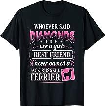 Jack Russell Terrier T-Shirt Girls Best Friend Dog Mom Gift T-Shirt