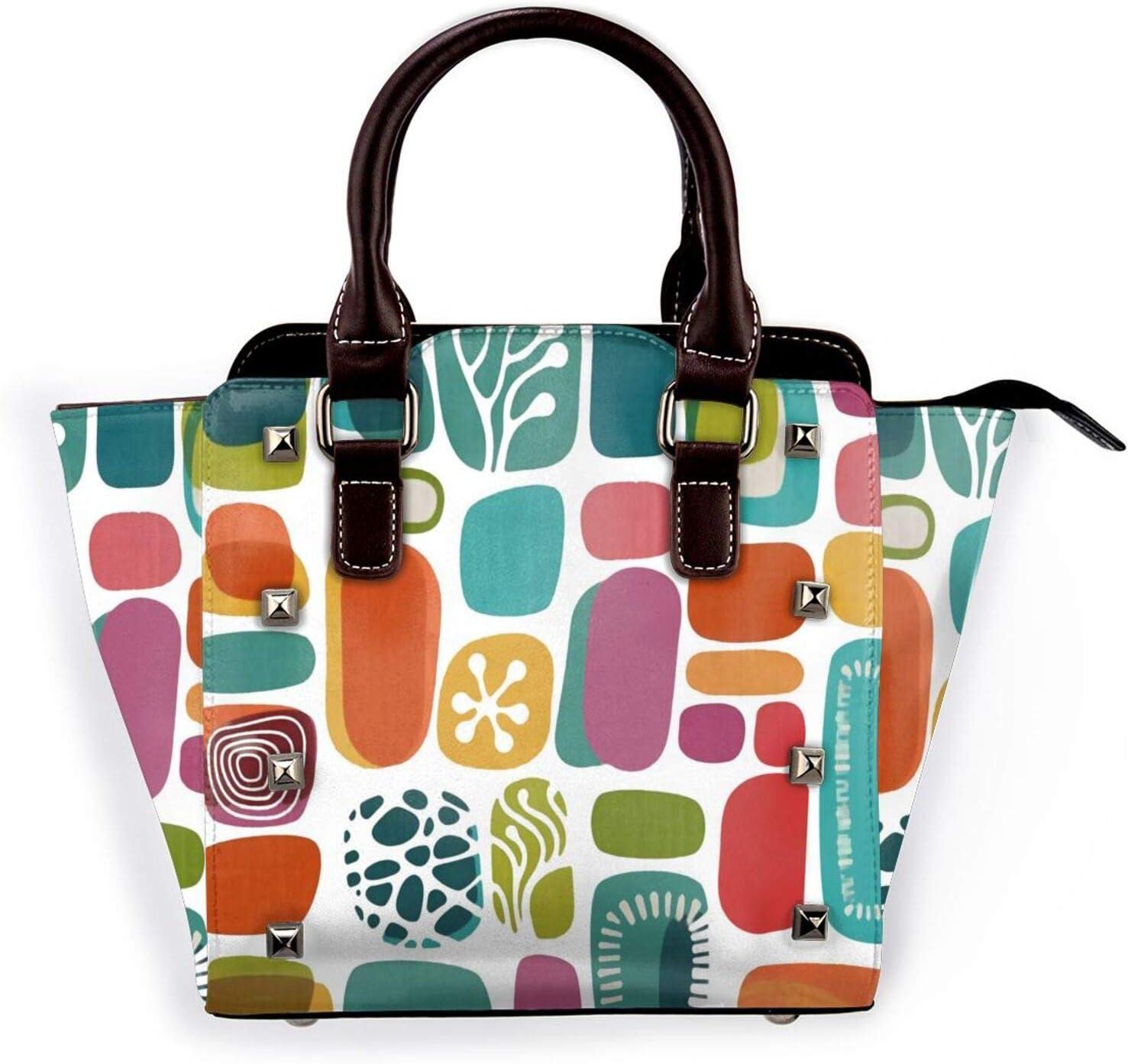 Tote Bag Geometric Modern Style Handbags Ba Space Large Same Austin Mall day shipping Shoulder