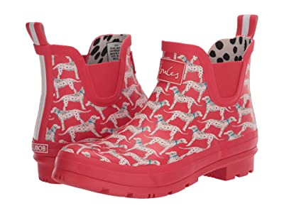 Joules Wellibob Chelsea Boot (Red Dog) Women