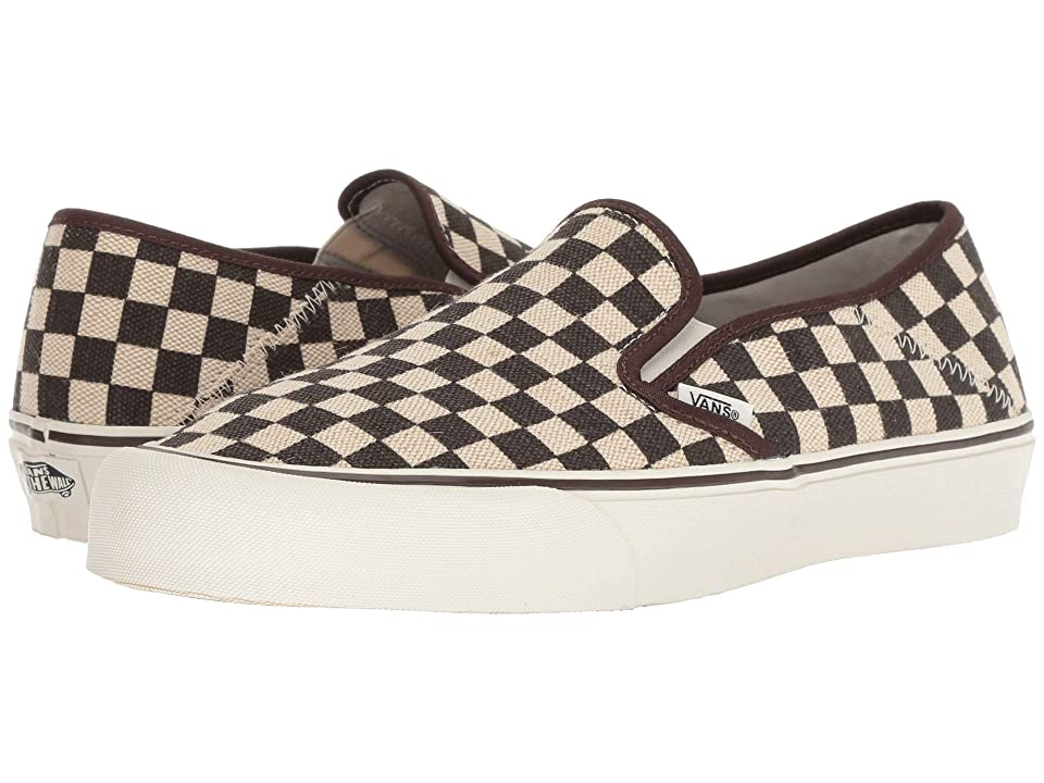 Vans Slip-On SF (Distressed Check) Shoes