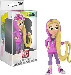 Funko Rock Candy: Comfy Princesses - Rapunzel Toy, Multicolor