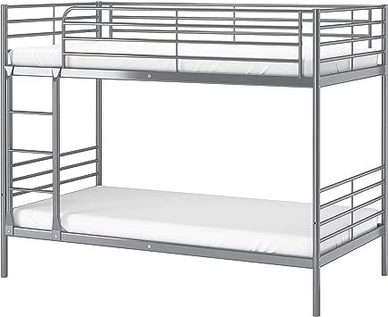Ikea 202 479 77 Svarta Bunk Bed Frame Silver Color Amazon Ca Home