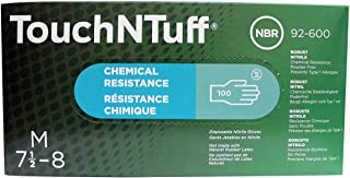 Ansell Touch N Tuff(R) - 9 1/2 in - Nitrile - Powder-Free Disposable Glove - Size 7 1/2