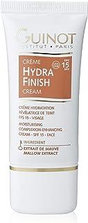 Guinot Creme Hydra Finish Face Moisturiser Complexion Enhancer SPF15 30 ml, Pack of 1