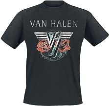 Van Halen T Shirt 84 Tour Band Logo Official Mens Black