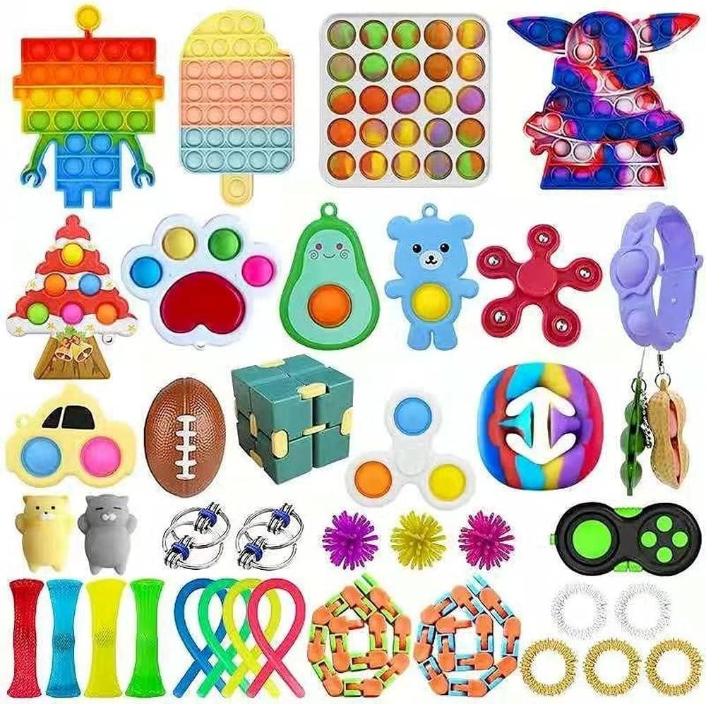 Simple Dimple Fidget Blocks Pop, A Simple Dimple Fidget Toy Set