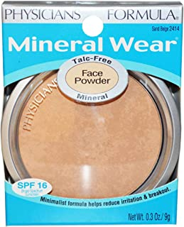 Physicians Formula Mineral Wear Talc-free Mineral Face Powder, Sand Beige