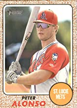 Baseball MLB 2017 Topps Heritage Minor League #66 Peter Alonso