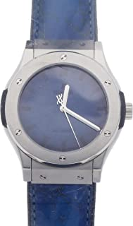 Hublot Classic Fusion Mechanical (Automatic) Blue Dial Mens Watch 511.NX.050B.VR.BER16 (Certified Pre-Owned)