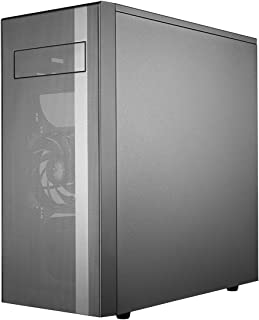 Cooler Master MasterBox NR600 ATX Case with Fine Mesh Fully Ventilated Front Panel and ODD Support, Black