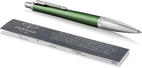 Parker Urban Ballpoint Pen, Premium Green with Medium Point Black Ink Refill (1975435)
