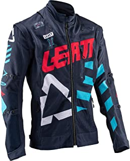 Leatt Brace GPX 4.5 X-Flow Riding Jacket-Ink/Blue-M