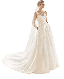 Passat 2M/3M 2 tier Beaded cathedral wedding veils with sequin pearls veils for brides H62