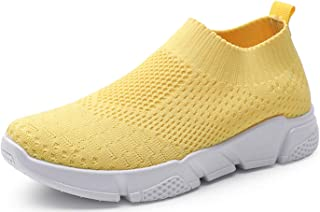 Walking Shoes - Yellow / Walking