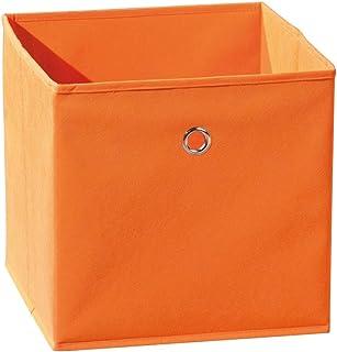 Links 99200230 Winny Bac Rangement Pliable Orange 31,5 x 31,5 x 31 cm