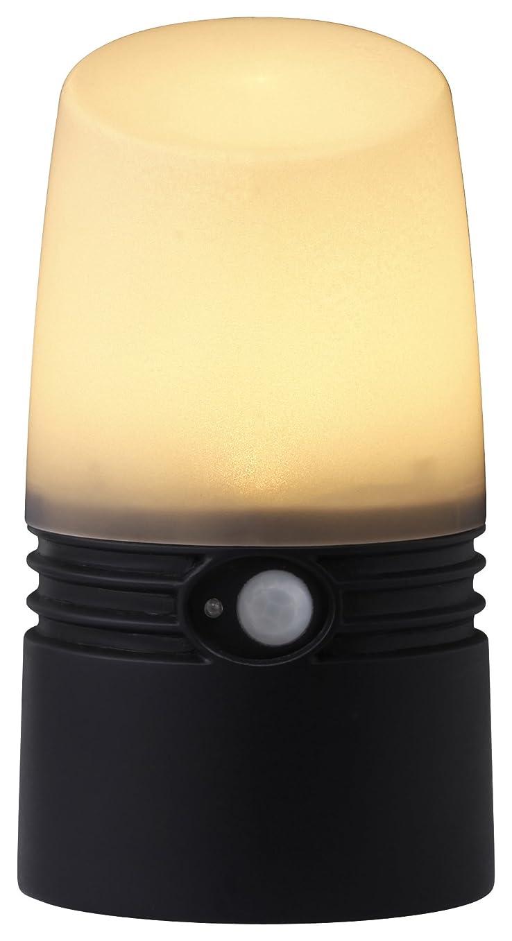 任意サスペンション父方のタカショー 乾電池式LEDアプローチ センサーライト S