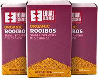 Equal Exchange Organic Rooibos Tea, 20-Count (Pack of 3)