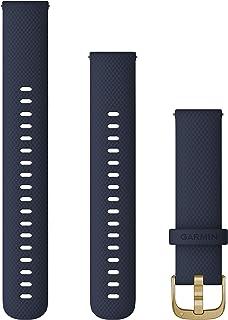 Garmin - Correa de liberación rápida (18 mm, Silicona), Color Azul Marino
