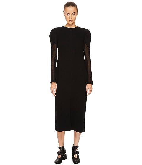Y's by Yohji Yamamoto U-Gather Sleeve D Long Sleeve Dress