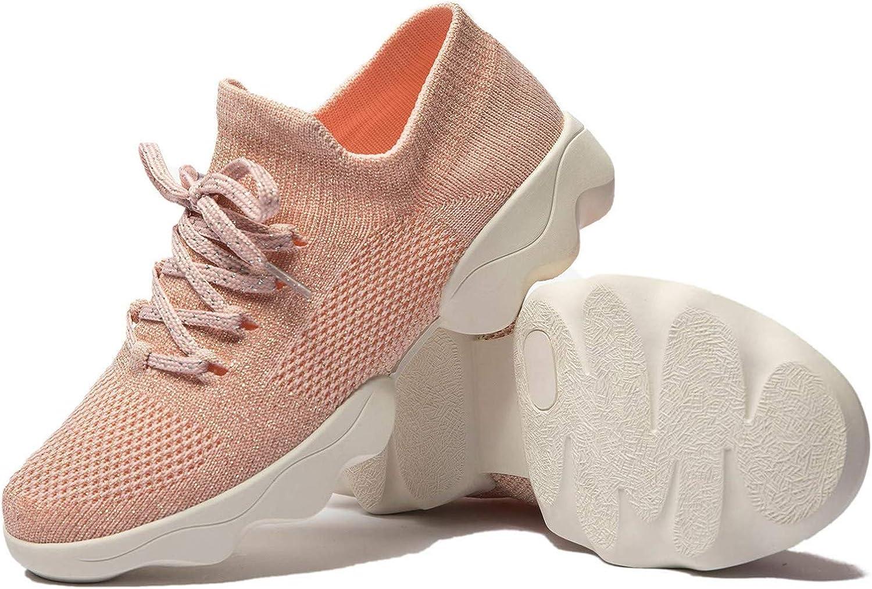 MAINCH Women Dance Sneakers Breathable Lady Split Sole Girls Ballroom Practice Athletic Walking Shoes