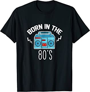 in the 80's 1980 Generation Boombox T-shirt