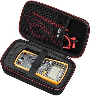 RLSOCO Carrying case for Fluke 117/115/116/114/113/177/178/179 Digital Multimeter and..