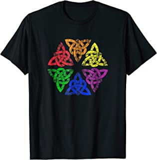 LGBTQ Irish Celtic Knot trinity heart: gay pride T-shirt
