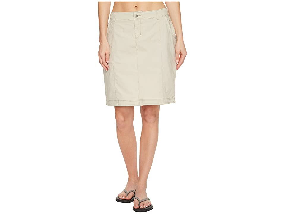Woolrich Vista Point Eco Rich Skirt (Stone) Women