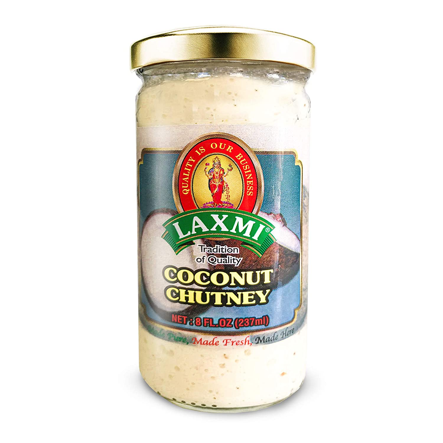 Laxmi Brand Chutney Authentic Max 44% OFF Herbs Price reduction Pure Made and Spices