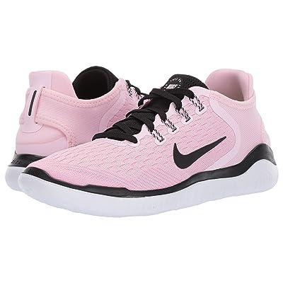 Nike Free RN 2018 (Pink Foam/Black/Pink Rise/White) Women