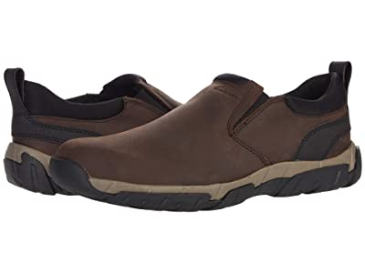 Clarks Grove Step (Brown Leather) Men