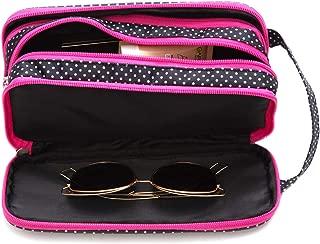 Versatile Travel Makeup Bag - Large Cosmetic Pouch - Travel Organizer