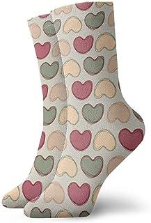 – Calcetines de deporte unisex sin costuras, de algodón aleatorio.