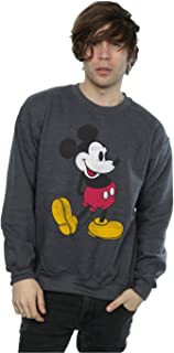 Disney Men's Mickey Mouse Classic Kick Sweatshirt