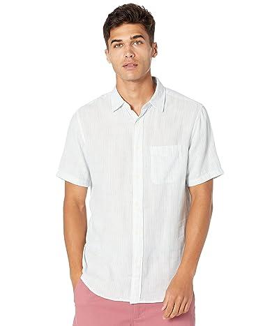 Faherty Short Sleeve Chill Doublecloth Shirt