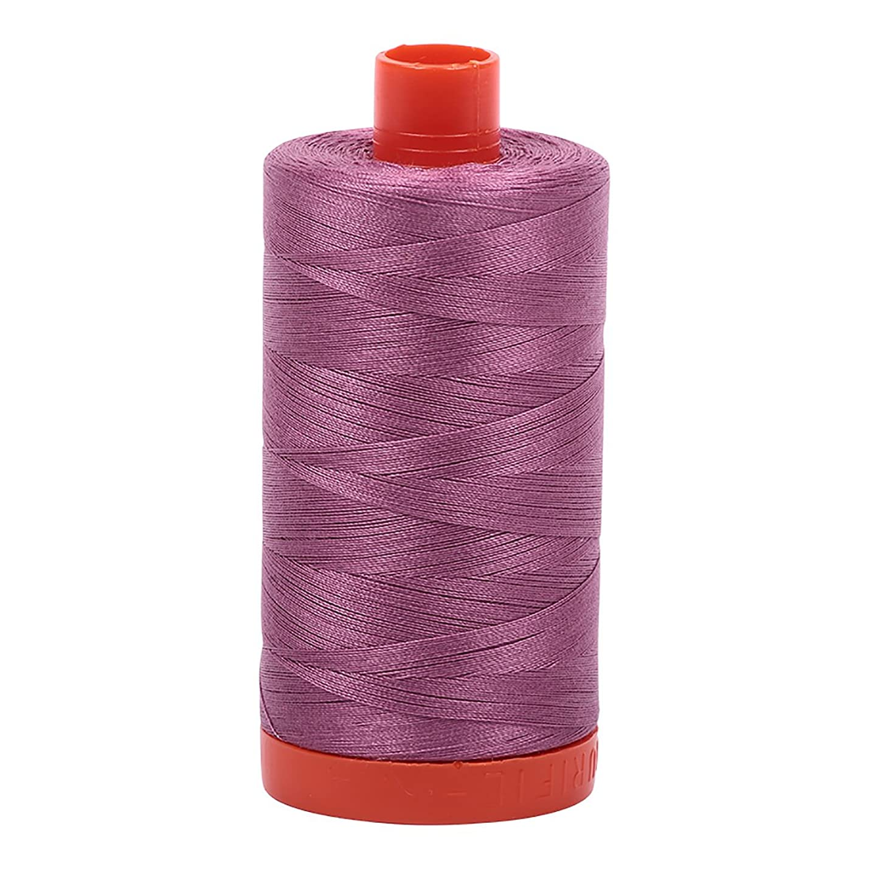 Aurifil Mako Cotton Thread Solid 50wt 1422yds Wine zklybadhriuqq456