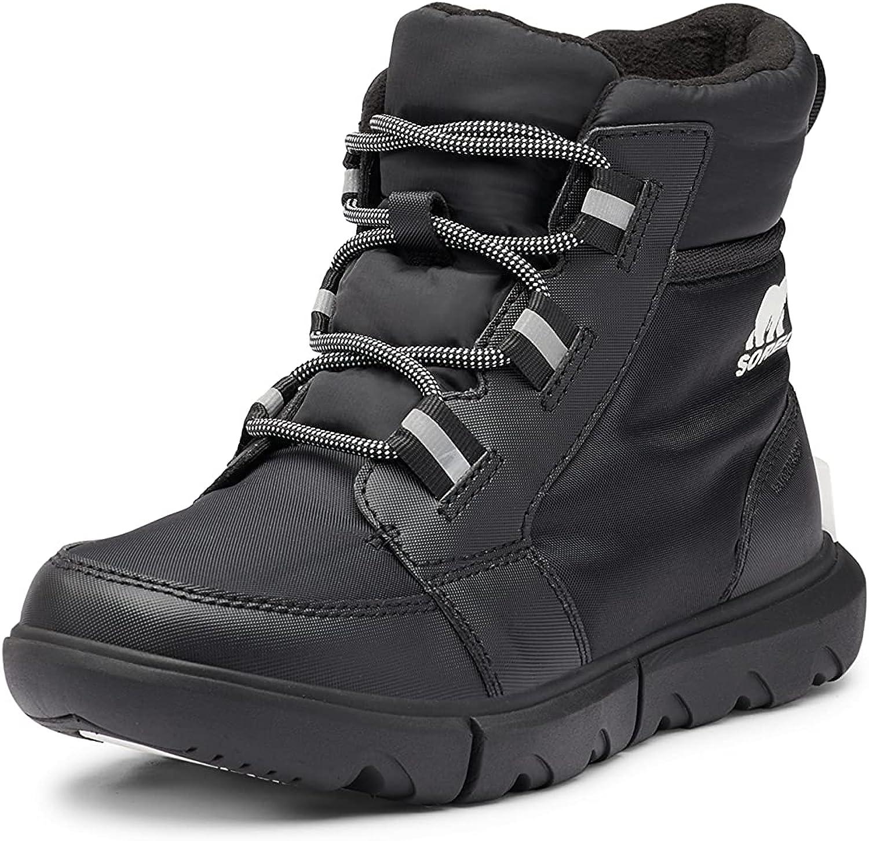 SOREL Women's Explorer II Carnival Boot — Black, Black — Waterproof Winter Boots — Size 8.5