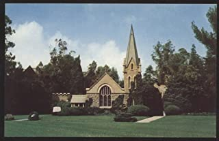 Forest Lawn Memorial Park Glendale CA Little Church Flowers Stoke Poges Postcard