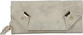 Butterflies Women Texture Wallet (Ivory) (BNS 2414IVR)