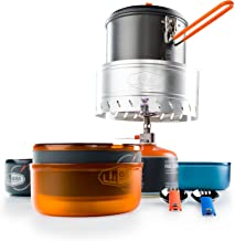 GSI Outdoors - Pinnacle Dualist Complete, Camping Cook Set, Superior Backcountry Cookware Since 1985