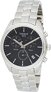 Tissot PR 100 Watch for Men - Analog, Stainless Steel Band - T1014171105100