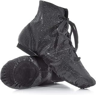 Double Platinum Adult Glitter Jazz Boot Flash