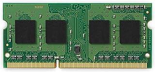 كينجستون فاليو رام 4 جيجابايت 1600 ميجاهرتز PC3-12800 DDR3 Non-ECC CL11 SODIMM SR x8 ذاكرة نوت بوك (KVR16S11S8/4)