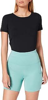 Marque Amazon - AURIQUE Shorts de Sport Femme avec poche latérale
