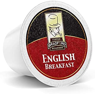 Bradford Tea - 48 Ct. English Breakfast Tea K-Cup® Pods, Compatible with 2.0 K-Cup® Brewers